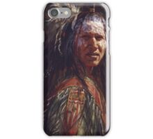 Ever Watchful, Crow, Native American Art, James Ayers Studios iPhone Case/Skin