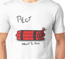 Pilot (About To Blow) - Catch-22 Unisex T-Shirt