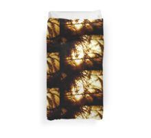 Through the Trees does Burn my Love  Duvet Cover