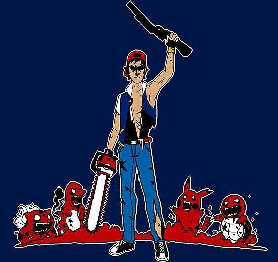 Ash Pokemon Zombie Master by mbecks114