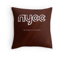 NYCC Poster Entry Throw Pillow