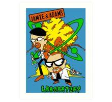 Jamie and Adam's Lab Art Print