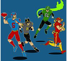 Superhero Football Photographic Print