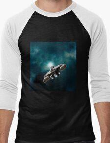 Wormhole Opening Men's Baseball ¾ T-Shirt