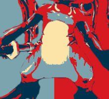 Fizz - League of Legends - Obama Style Sticker