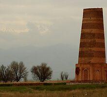 Burana Tower, Kyrgyzstan by mkgolder