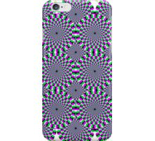 Spinning circles illusion iPhone case. iPhone Case/Skin