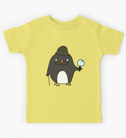 Sherlock Penguin Kids Tee
