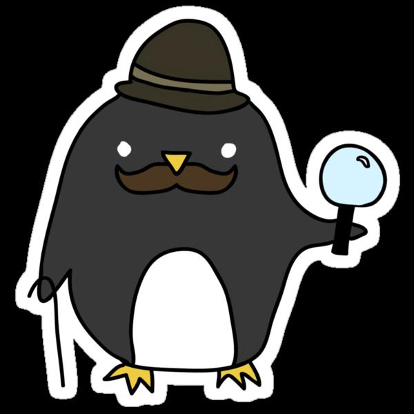 Sherlock Penguin by Futurebot