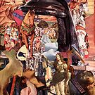 Renaissance Collage, The Lost Knight. by Andy Nawroski