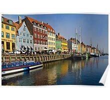 The old port of Nyhavn Poster