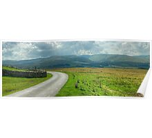 The Howgills From The North Poster