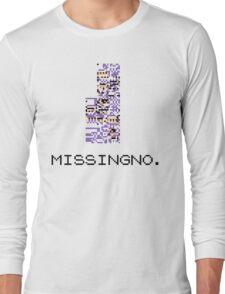 MissingNo Pixel Style - Pokemon Gameboy - Retro game fan shirt!  Long Sleeve T-Shirt
