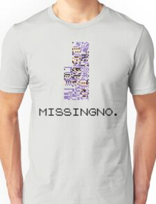 MissingNo Pixel Style - Pokemon Gameboy - Retro game fan shirt!  Unisex T-Shirt