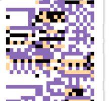 MissingNo Pixel Style - Pokemon Gameboy - Retro game fan shirt!  Sticker