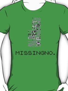 MissingNo Pixel Style - Pokemon Gameboy - Retro game fan shirt!  T-Shirt