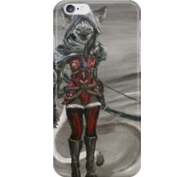 Siamese Catfolk Archer iPhone Case/Skin