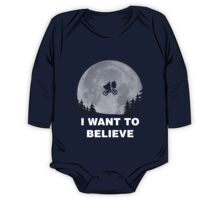 I Want To Believe In E.T. One Piece - Long Sleeve