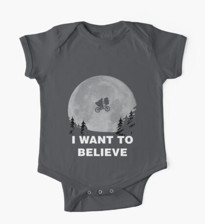I Want To Believe In E.T. One Piece - Short Sleeve