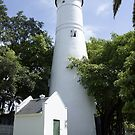 Key West Lighthouse by Laurie Perry