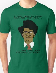 Moss Finishes His Milk... Unisex T-Shirt