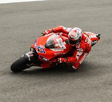 Casey Stoner at laguna seca 2010 by corsefoto