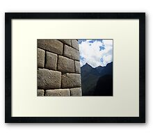 Contrast with Nature Framed Print