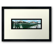 "101. ""The Lodgepole Pines at Jenny Lake, Grand Tetons National Park.""  Framed Print"