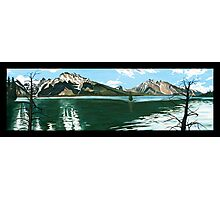 "101. ""The Lodgepole Pines at Jenny Lake, Grand Tetons National Park.""  Photographic Print"