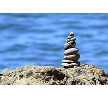 Rocks with a View Photographic Print