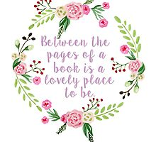 Between the Pages  by bookscupcakes