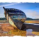 Anglesey Shipwreck by Mal Bray