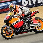 Dani Pedrosa at laguna seca 2010 by corsefoto