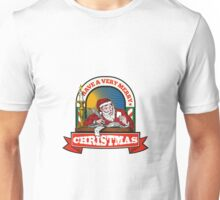 Santa Claus Father Christmas Writing Letter Unisex T-Shirt