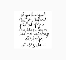 Roald Dahl inspirational tumblr quote merch! Unisex T-Shirt