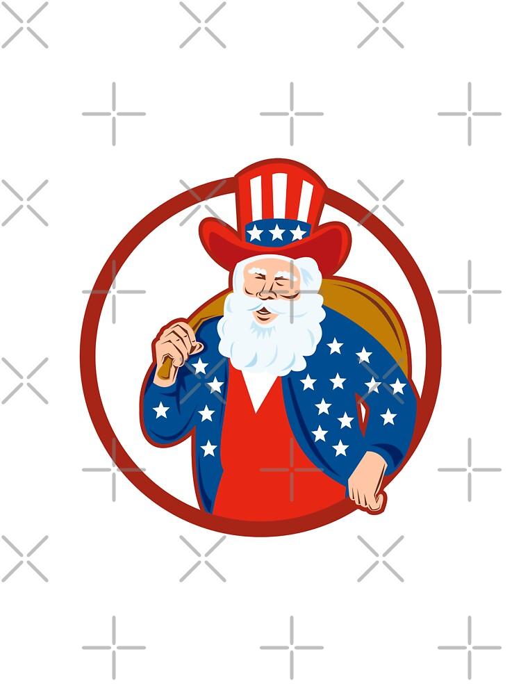 American Father Christmas Santa Claus by patrimonio