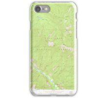 USGS Topo Map Washington State WA Brief 240228 1968 24000 iPhone Case/Skin