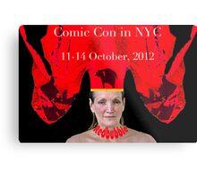 NYCC poster Metal Print
