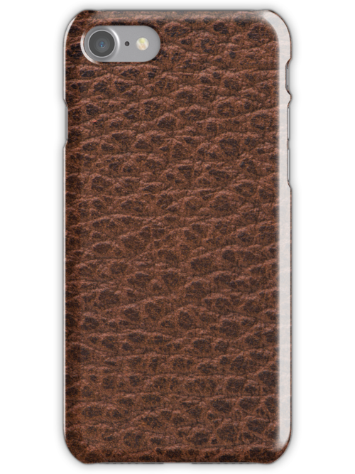 Natural brown leather by homydesign