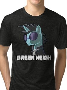 Green Neigh Tri-blend T-Shirt