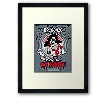 Fear N Loathing in 1925 (Dr Gonzo edition) Framed Print