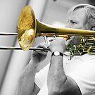 Trombone Player by Christopher Herrfurth