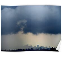 Stormy City, New York City  Poster