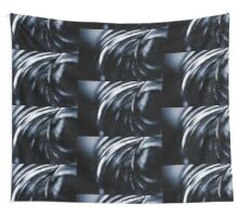 Silver Oil Wall Tapestry