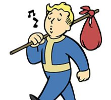 Fallout Vault Boy by Lombard