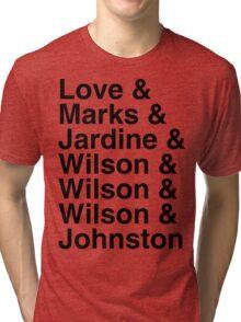 Beach Boys Lineup Tri-blend T-Shirt