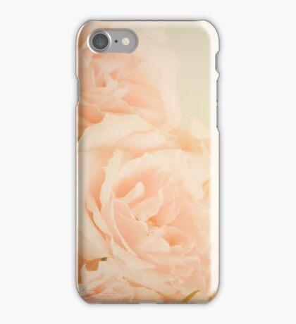 Pink Vintage Roses  iPhone Case/Skin