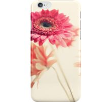 Vintage Pink Flowers iPhone Case/Skin