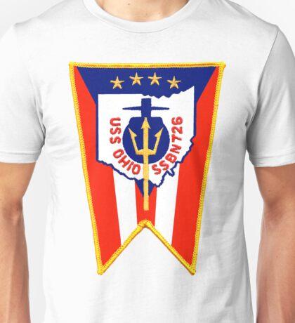 SSBN 726 USS Ohio Crest Unisex T-Shirt