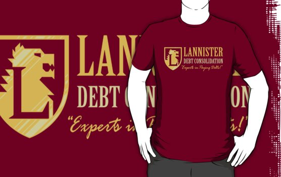 LANNISTER DEBT CONSOLIDATION by DREWWISE